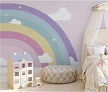 Photo Wallpaper Purple Rainbow 250x175 cm -5
