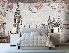 Photo Wallpaper Rose City Silhouette Wallpaper 3D