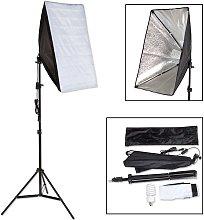 Photography lighting + softbox model 1 - black