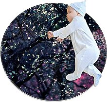 Photography plants, Printed Round Rug for Kids