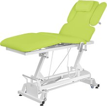physa Electric Massage Table NANTES LIGHT GREEN