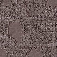 Piazza Wallpaper Architects Paper Colour: Dark