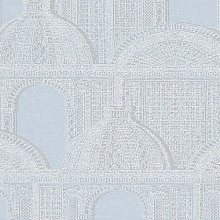 Piazza Wallpaper Architects Paper Colour: Grey/Blue