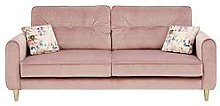 Picadilly Fabric 3 Seater Sofa