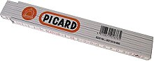 Picard 0071510-000 Folding Rule of Wood, White