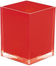 PicardWasteBasket Mercury Row Colour: Red