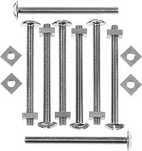 Picardy Zinc Plated Roofing Bolts With Nuts