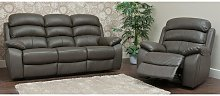 Picasso Reclining 3+1+1 Seater Leather Sofa Suite