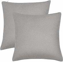 PiccoCasa 2 Pcs Waterproof Throw Pillow Covers, 45