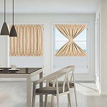 PiccoCasa Patio Door Curtain Window Treatment