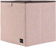 PiccoCasa Storage Bin Cube, Foldable Basket Cubes