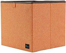PiccoCasa Storage Bin Linen Fabric Basket,