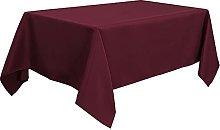 PiccoCasa Table Cloth Rectangular - Wrinkle