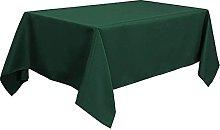 PiccoCasa Table Cloth Rectangular - Wrinkle Green
