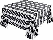 PiccoCasa Table Cover - 100% Cotton Elegance