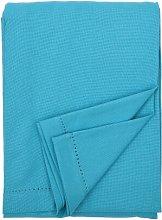 Pichardo Tablecloth Mercury Row Colour: Teal Blue