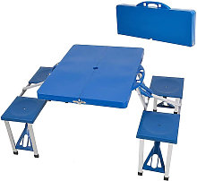 Picnic Camping Table Bench Seat Outdoor Portable