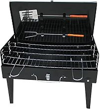 Picnic Grill Charcoal Grill Portable Foldable Iron