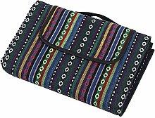 Picnic Mat -Picnic Blanket Ethnic Style Portable
