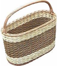 Picnic Shopping Wicker Basket Brambly Cottage