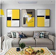 Picture Canvas No Frame 50x70cm 3Pieces Modern