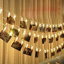 Picture Clips Photo Pegs String Light,TriLance