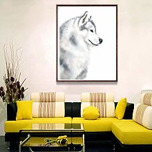 Picture print canvas wall art Cloth painting Wolf