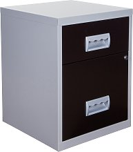 Pierre Henry A4 2 Drawer Combi Filing Cabinet