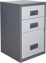 Pierre Henry A4 3 Drawer Combi Filing Cabinet