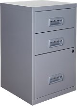 Pierre Henry A4 3 Drawer Combi Filing Cabinet -
