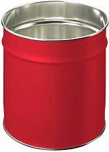 Pierre Henry Basket, Steel, red, One Size