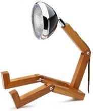 Piffany Copenhagen - Mr Wattson LED Wooden Lamp -