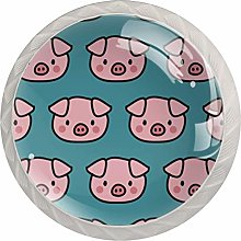 Pig Blue Animal   Modern Minimalist Printing