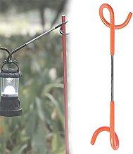 Pig Tail Hook, Two Way Metal Hooks,Portable