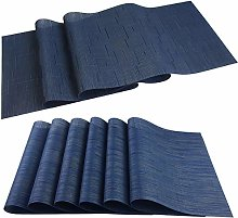 pigchcy Elegant Placemat Set of 6 and Table