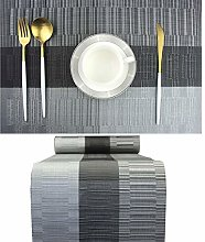 pigchcy Elegant Placemats with Matching Table