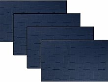 pigchcy Placemats,Washable Vinyl Woven Table