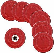 pigchcy Round Placemat Set of 6 Heat Resistant