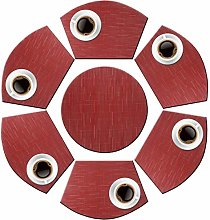 pigchcy Wedge Shape Placemat Set of 6 Placemats