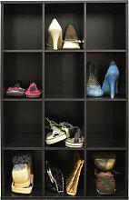 PIGEON HOLE - 12 Pair Shoe Storage / Cubby Hole