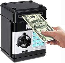 Piggy Bank, Electronic ATM Password Cash Coin Can