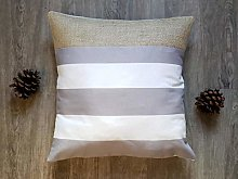 Pillow Cover Modern Rustic Farmhouse Gray And