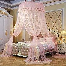 Pillowcase Large Romantic Mosquito Net Round Dome
