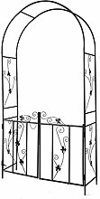 Pillows-RJF Perfect Metal Garden Arbor,with Fence