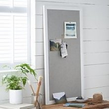 Pin Board. The White Company. One Size. White Grey