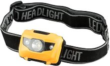 Pinder Yellow Battery Powered LED Outdoor Headlamp