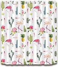 Pineapple Cactus Flamingo High-definition printed