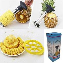 Pineapple Corer Slicer Cutter Peeler Divider
