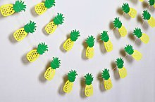 Pineapple Garland - Birthday Decorations,Party