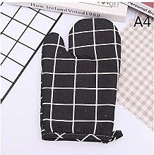 PINGPUNG Oven gloves 1PC Non-slip Yellow Gray
